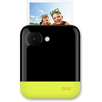"Polaroid POP 3x4"" Instant Print Digital Camera with ZINK Zero Ink Printing Technology - Yellow (DISCONTINUED)"