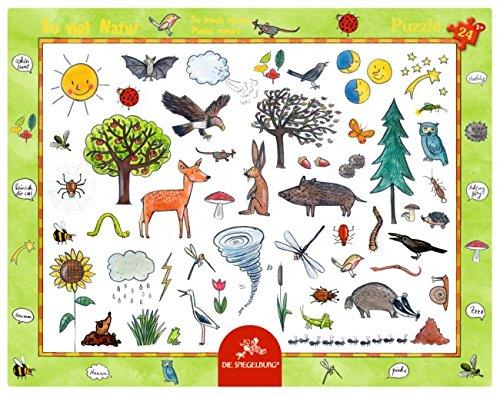 Rahmenpuzzle - So viel Natur (24 Teile)