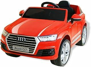 Festnight- Voiture électrique Véhicules électriques et Accessoires pour Enfants Audi Q7 Rouge 6 V
