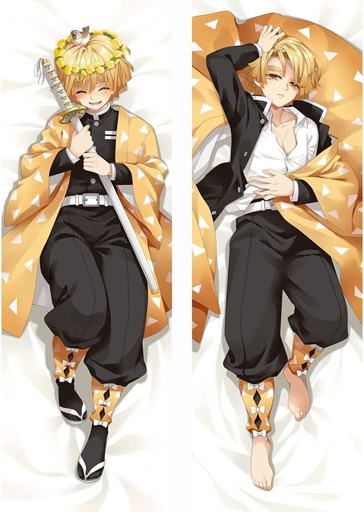 bisney New Anime NEW before selling ☆ Girls Body Pillowcase Pattern Double-Sided Outstanding Daki
