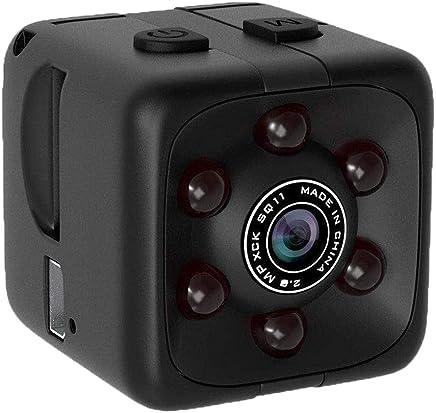Misifeng Mini Micro SPY HD Cam Hidden Camera Dice Video USB DVR Recording SpyCam SQ11 (Black, one Size)