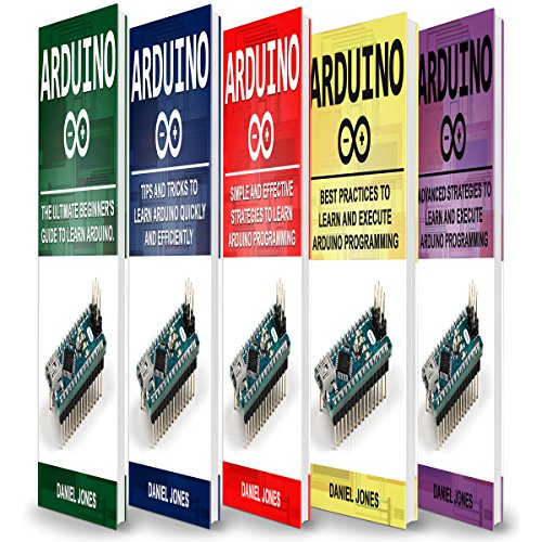 Arduino Books: 5 Books in 1 audiobook cover art