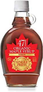 47 North Canadian Organic Syrup, SINGLE PRESS, Grade A, Amber Rich 250g LIMITED EDITION