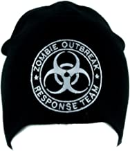 Zombie Outbreak Responce Team Beanie Alternative Style Clothing Knit Cap Walking Dead