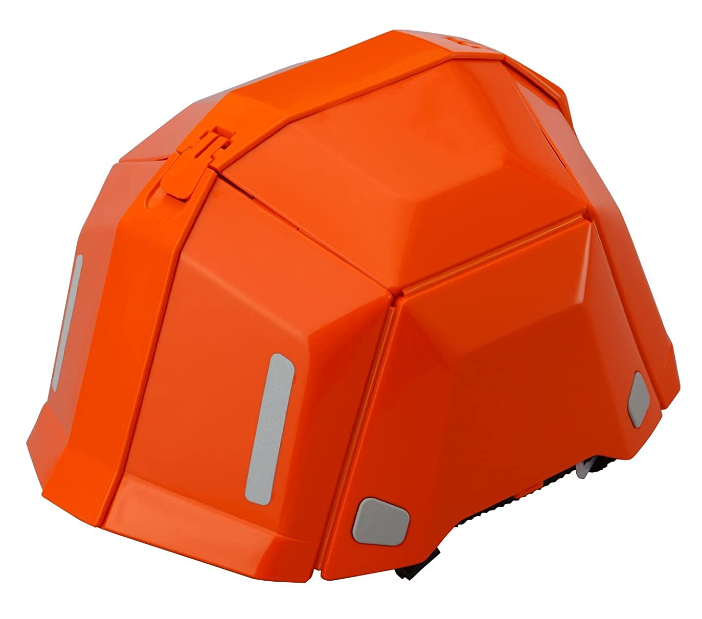 無効にする歯痛靴TOYO 防災用折りたたみヘルメット BLOOM II No.101 オレンジ