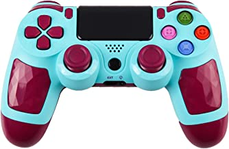 ZFY Z01 PS4 Controller with High Sensitivity Bluetooth Gamepad Joystick Wireless Controller for Playstation 4 PS4 - Blue
