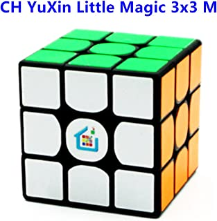 CuberSpeed CH YuXin Little Magic 3x3 M Speed Cube Magnetic 3x3 Black Magic Cube with 48pcs Magnetic Inside