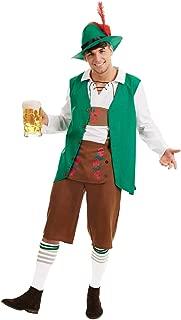 Mens & Womens Bavarian Costumes Adults German Lederhosen Oktoberfest Outfits