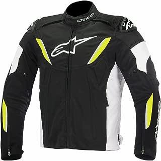 Alpinestars T-GP Plus R Waterproof Men's Street Motorcycle Jackets - Black/White/Yellow/Small