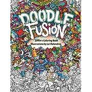 Doodle Fusion Zifflins Coloring Book Volume