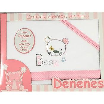 Danielstore- Sabanas De Cuna De franela -Color 100/% algodon bajera. encimera y funda de almohada beige