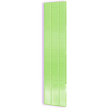 Purple Translucent Color Renewed Azar 770820-PUR Pegboard 1-Sided Wall Panel 2-Pack