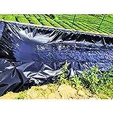 LSXIAO Schwimmbad Teichfolien, Dauerhaft HDPE Mit UV-beständig Glasur Reißfestigkeit Pflanzen, Fisch Sicher Für Den Hinterhof Wasserfälle, Fisch-/Koiteiche, 71 Größen (Color : Black,...