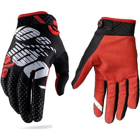 Guanti da corse motociclistiche per uomini e donne con dita completamente coperte adatti per attivit/à all/'aria aperta e motociclismo