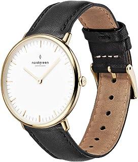 Nordgreen Native Scandinavian Gold Unisex Analog Watch with Strap 10053