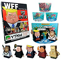 WFF Paper Toy Finger Puppets, Help kids learn about World Leaders
