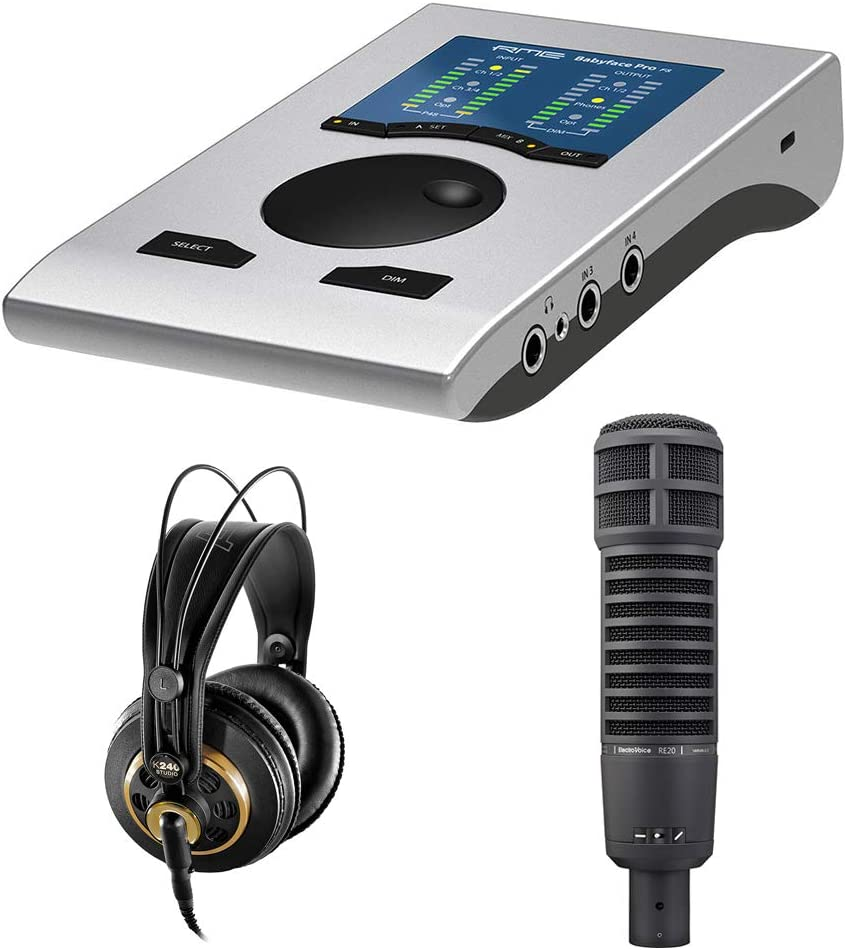Max 52% OFF RME Babyface Professional Podcast Electro-Voice Kit Bundle with Price reduction