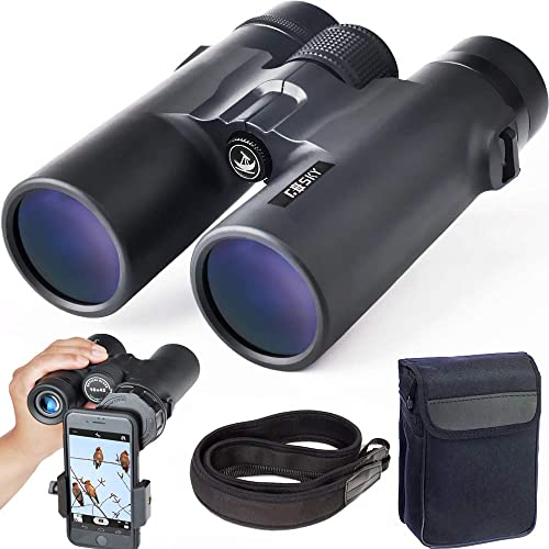 Gosky 10x42 Roof Prism Binoculars for Adults, HD Professional Binoculars for Bird Watching Travel Stargazing Hunting ...