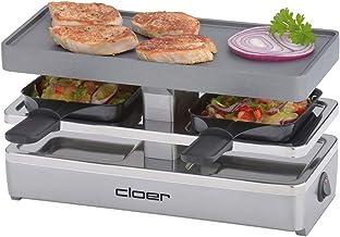 Cloer 6495 Mini-Appareil à Raclette Noir