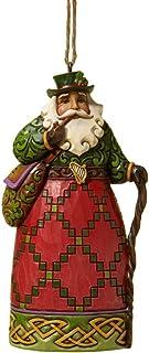 "Best Jim Shore Heartwood Creek Irish Santa Stone Resin Hanging Ornament, 4.6"" Reviews"