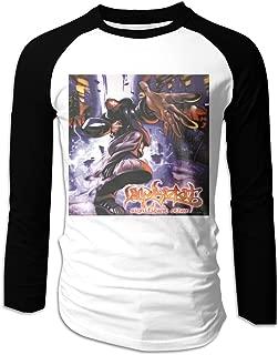 FriedaJO Men's Limp Bizkit Significant Other Futures Graphic Comfortable 3/4 Raglan Sleeve Baseball Jersey Shirt