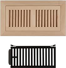wood grilles registers