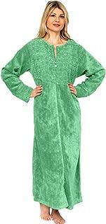 Women's Cotton Chenille Robe Full Length