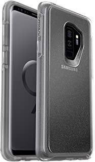 OtterBox SYMMETRY CLEAR SERIES Case for Samsung Galaxy S9+ - Frustration Free Packaging - STARDUST (SILVER FLAKE/CLEAR)