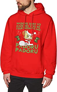 Bakugou Anime Fate Stay Night Sing with Nero Christmas Padoru Men's Pullover Long Sleeved Sweatshirts Hoodies
