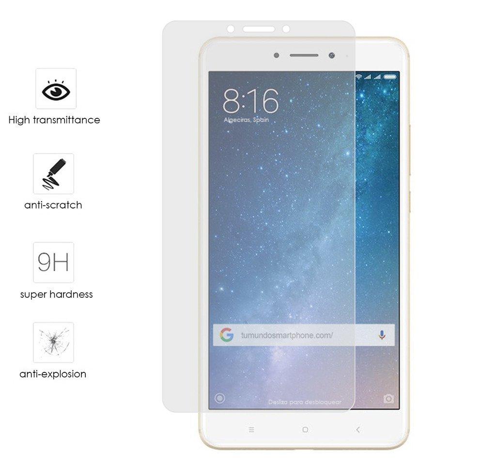 Tumundosmartphone Protector Cristal Templado para XIAOMI MI MAX 2 ...