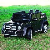 Moderno Kid Maybach G650 12V Kids Ride-ON CAR with Parental Remote | (Black)