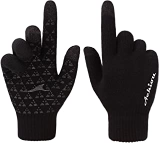 Winter Knit Gloves Touchscreen Warm Thermal Soft Lining...