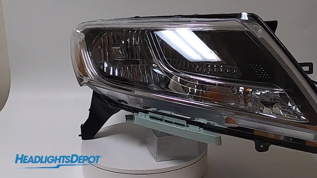 Fog Light Trim Molding compatible with Durango 2014-2015 Chrome Inner Ring Bezel Right or Left Side