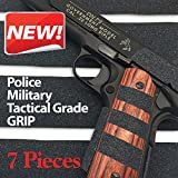 Red Cat Pistol & Gun Grip Tape - Tactical Police Military Grade for Guns Knives Tools Phones Cameras Anything! 7 Pieces...