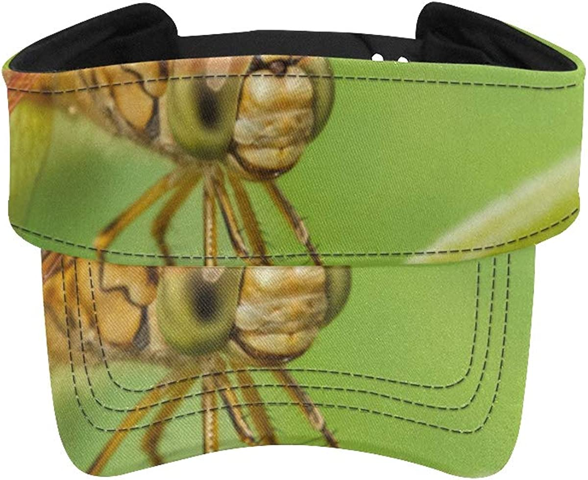 Fixed price for sale Sun Sport Visors for Women Dragonfly Lily Bud Ladies On Water New sales A