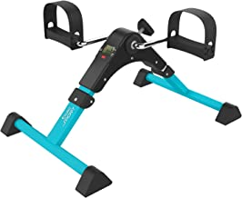 Aduro Sport Foldable Pedal Exerciser, Stationary Under Desk Exercise Equipment Arm/Leg/Foot Peddler Exercise