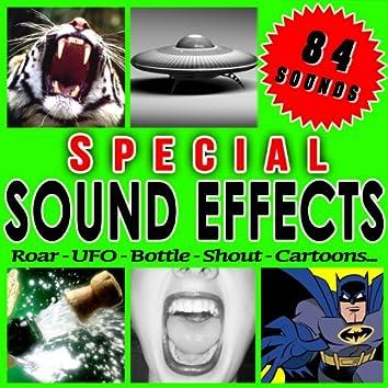 Roar, Ufo, Bottle, Shout, Cartoons... Special Sound Effects.