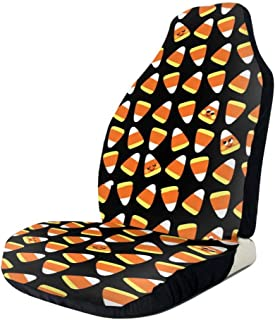 Car Seat Covers Candy Corn Kawaii by Front Seat Covers for Auto Cars Seat Covers for Cars, Trucks, Vans, Minivan, SUV and Crossovers for All Protective Front Seat Covers