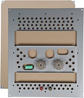 Elite Acoustics 环绕隐形家庭音箱,一套 1 个,矩形 (SKENE20)