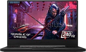 "2020 ASUS ROG Zephyrus M15 Gaming Laptop: 10th Gen Core i7-10750H, RTX 2070, 1TB SSD, 16GB RAM, 15.6"" 240Hz Full HD Display"