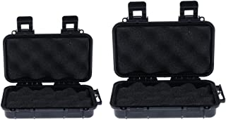 Baoblaze 2pcs Portable Outdoor Shockproof Watertight Box Case for Storing Small Tools, Precision Instruments