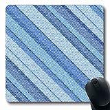 Mausepad Blau Werbung Denim Shabby Diagonal Jeans Abstrakt Schöne Leinwand Klassische Grobe Ideen Kreative Schule Laptop Maus Matte Mousepad Office Oblong Custom 25X30Cm Computer