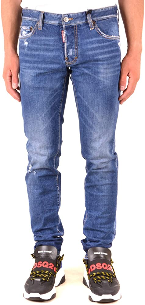 Dsquared2, jeans slim fit per uomo,in cotone S71LB0642