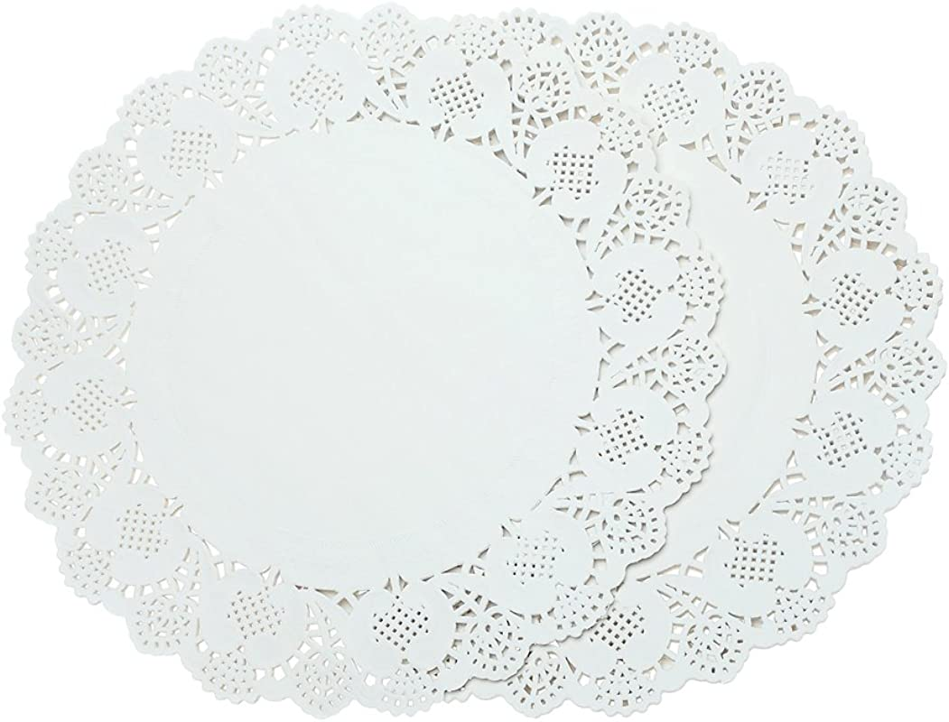 Doilies Paper Lace 12 Round Off White Cake Placemats Crafting Coaster Of Table Supplies Decoration 200pcs