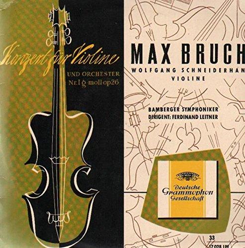 Konzert für Violine und Orch Nr.1 g-moll op26,, Schneiderhan