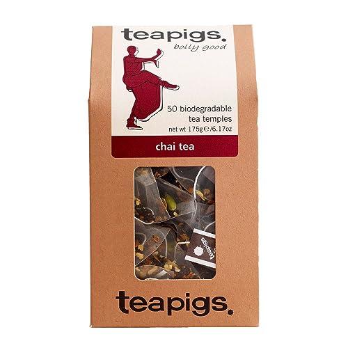 teapigs Chai Tea 125 g (Pack of 1, Total 50 Tea Bags)