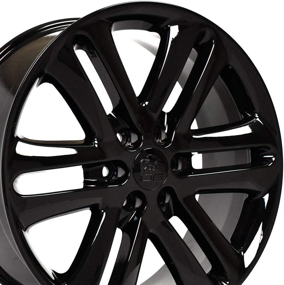 22x9 Wheels Fit Ford Trucks SUVs Sale Black Rims Rare Holla F150 - Style
