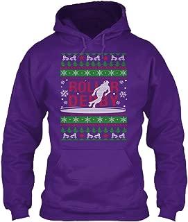 teespring Men's Rollr Derby - Sweatshirt - Gildan 8Oz Heavy Blend Hoodie
