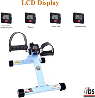 IBS Perfect Abs Thighs Care Pedal Exercise Cycle with Digital Display for Men and Women (Sky Blue)