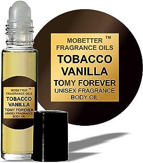 Tobacco Vanilla Unisex Body Oil (10ml Roll On) by MoBetter Fragrance Oils